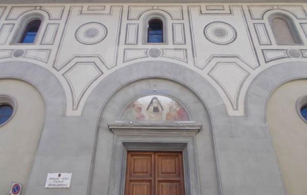 <strong>Firenze – Liceo classico Michelangelo, Via della Colonna 11  restauro del partito decorativo di facciata</strong>